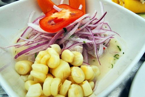 Traditional Ceviche of Peru
