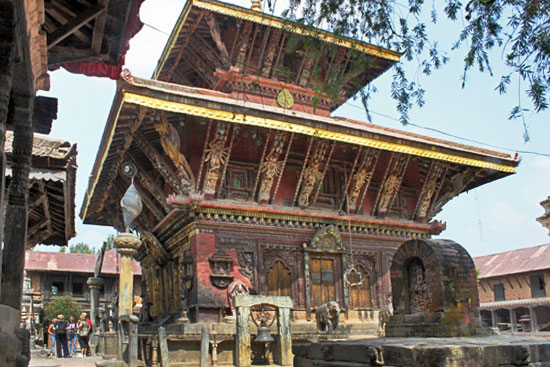 Changu Narayan Temple in the Eastern Kathmandu Valley, is said to be the oldest temple in the valley