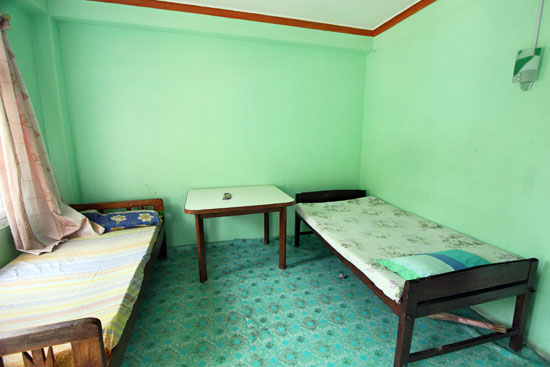 Bedroom for trekking guide trainees