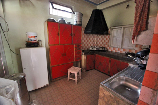 Kitchen for orphans