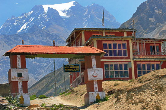 Gateway to Muktinath, home to a high mountain temple that is holy to Hindu and Buddhists alike