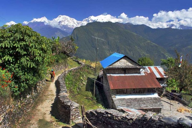 The Himalayan village of Puma Nepal practices sustainable living