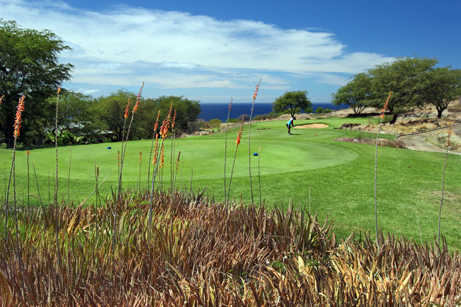 Challenge at Manele Bay golf course, Four Seasons Resorts Lanai, Hawaii