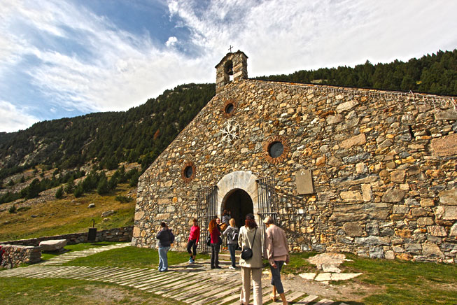 Hermitage of Saint Giles is home to the icon of the Virgin de Núria