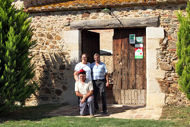 Proud owners of Can Dionis, previously an operating farm but now a homestay for those who want to experience the culture of Catalonia, Spain