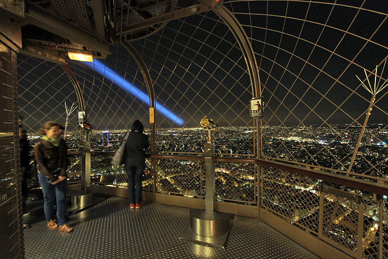 photo view from the top of eiffel tower paris france