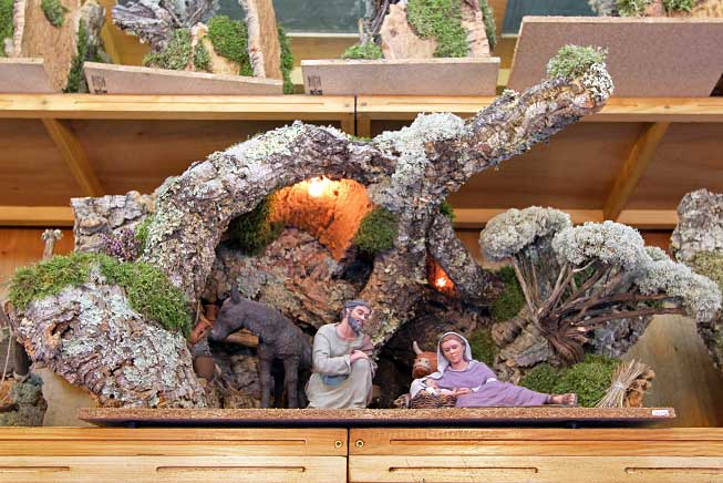 Rather than Christmas trees, families in Catalonia, Spain purchase a nativity, called a Belen in Spanish and a Pessebre in Catalan.