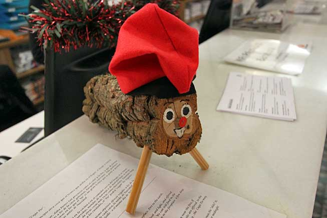 "In Catalonia, Spain, the Caga Tio (a large log) is believed to ""shit"" gifts on Christmas morning"