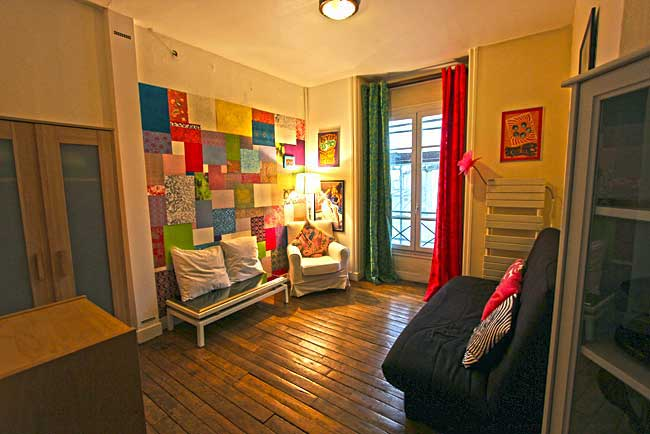 France Paris Bellboy Apartments Living