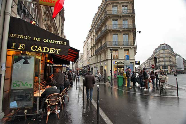 France-Paris-Cadet-Street