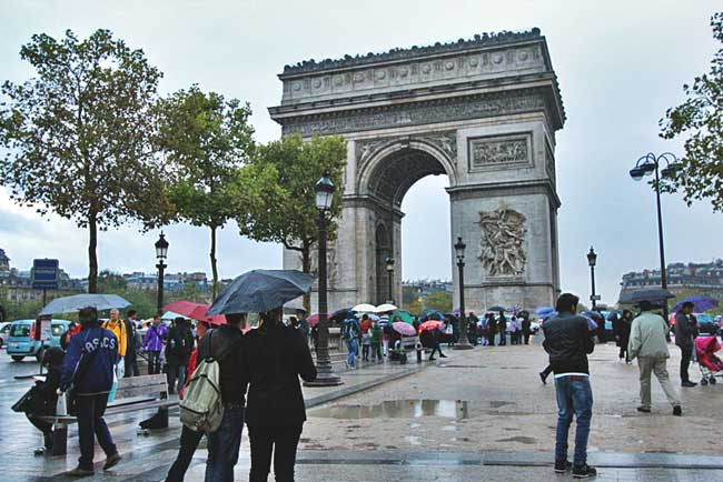 France-Paris-Arc-de-Triomphe