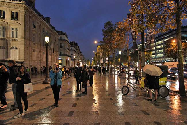 France-Paris-Champs-Elysee