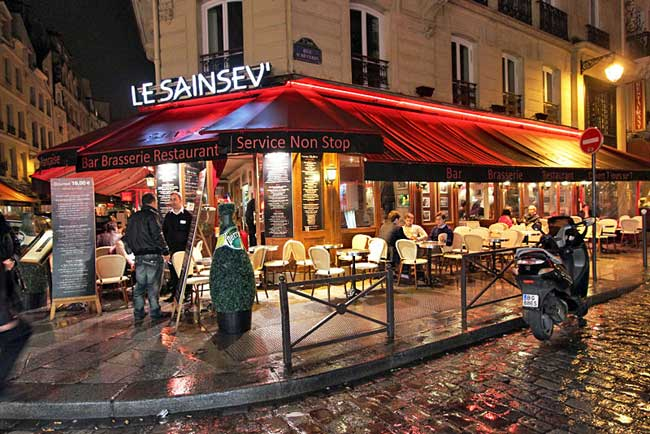 Choose from dozens of restaurants in Paris' Latin Quarter