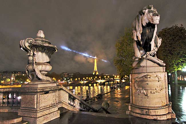 France-Paris-Pont-Alexandre-III-Night