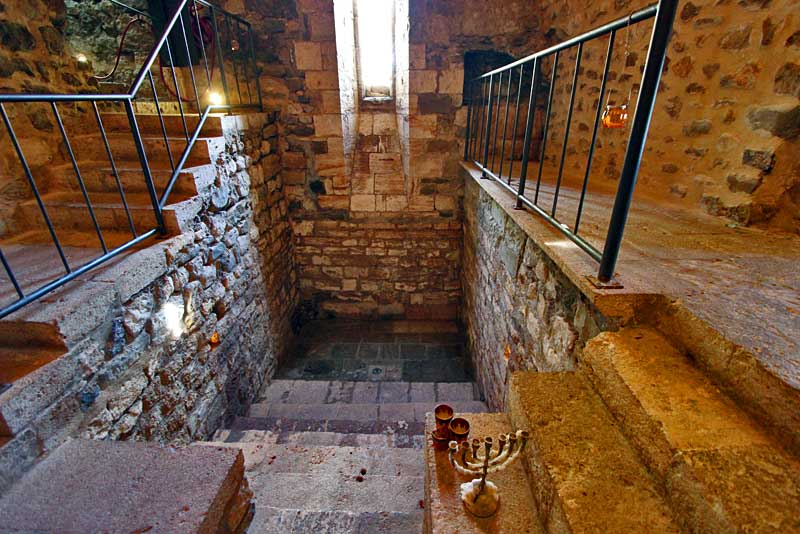 Ritual Jewish Mikveh (Bath) in Besalu is the Only One Ever Discovered in Catalonia, Spain