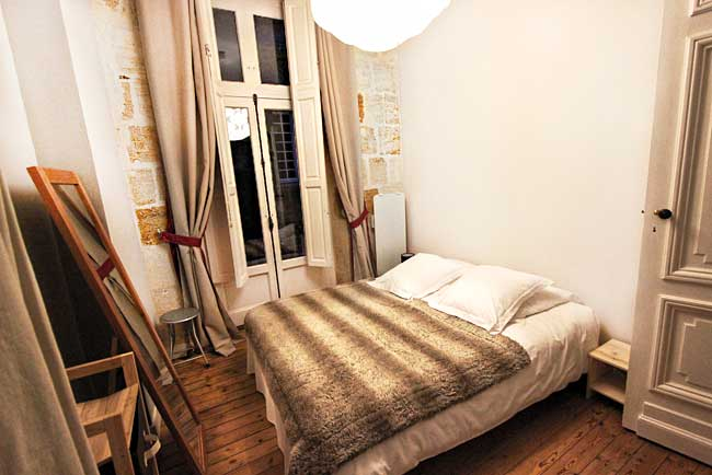 Bedroom Of My Home Away Als Apartment In Bordeaux France