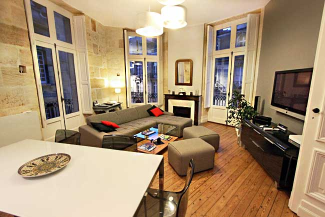 Gorgeous vacation rental apartment from HomeAway.co.uk in Bordeaux France