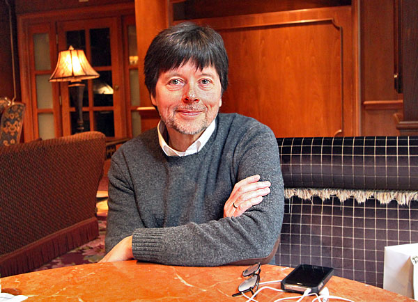 Legendary documentary filmmaker, Ken Burns, curator of the Tauck Jazz Event in New Orleans