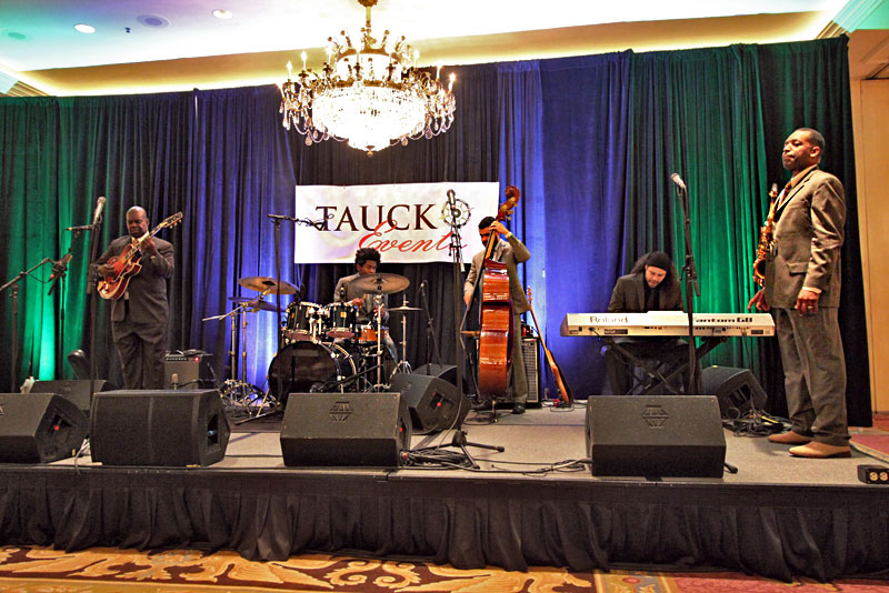 """Donald Harrison, the """"King of Nouveau Jazz,"""" and His Quartet, at a Private Performance for Tauck Jazz Event in New Orleans"""