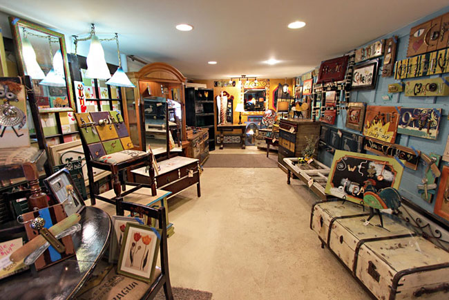 Tangerinas, one of many cute local shops and galleries in Chattanooga's North Shore neighborhood