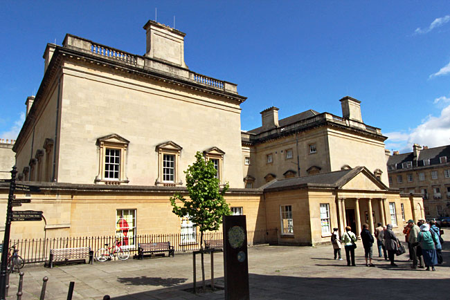 Bath Assembly Rooms, built in Georgian style in the mid-18th century, hosted Brueggergosman in the ballroom