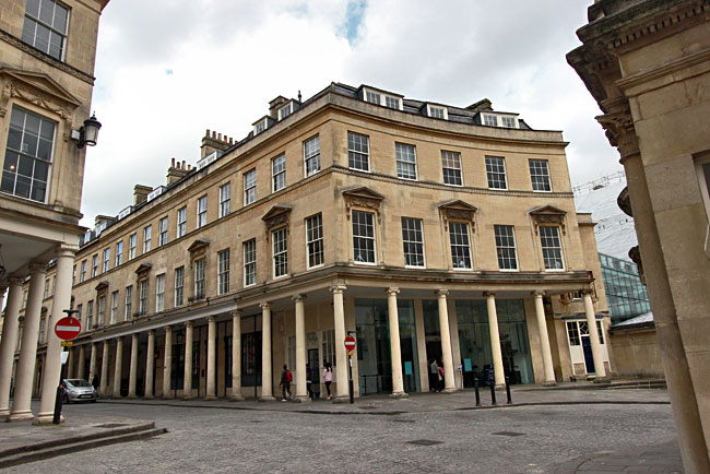 Thermae Bath Spa, the most luxurious of all the spas in Bath, England
