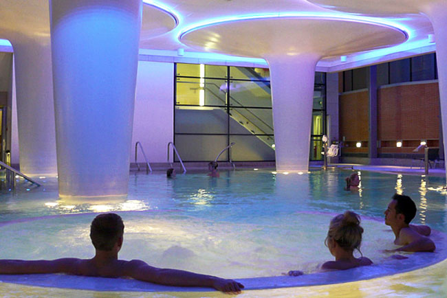 Minerva Spa, photo courtesy of Thermae Bath Spa