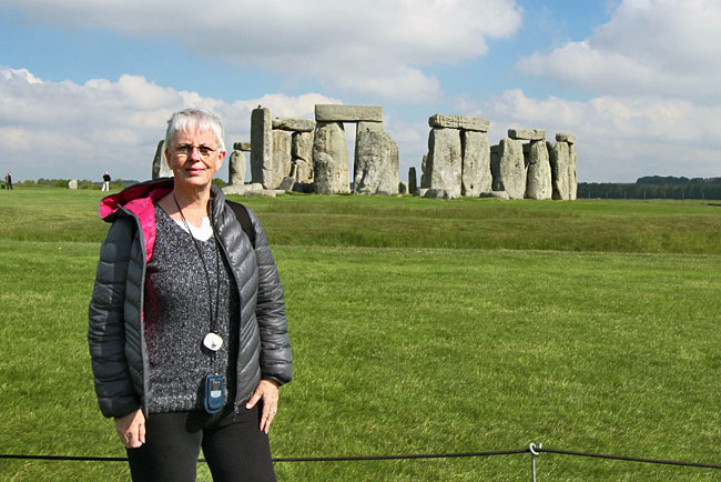 This was as close as I could get to Stonehenge