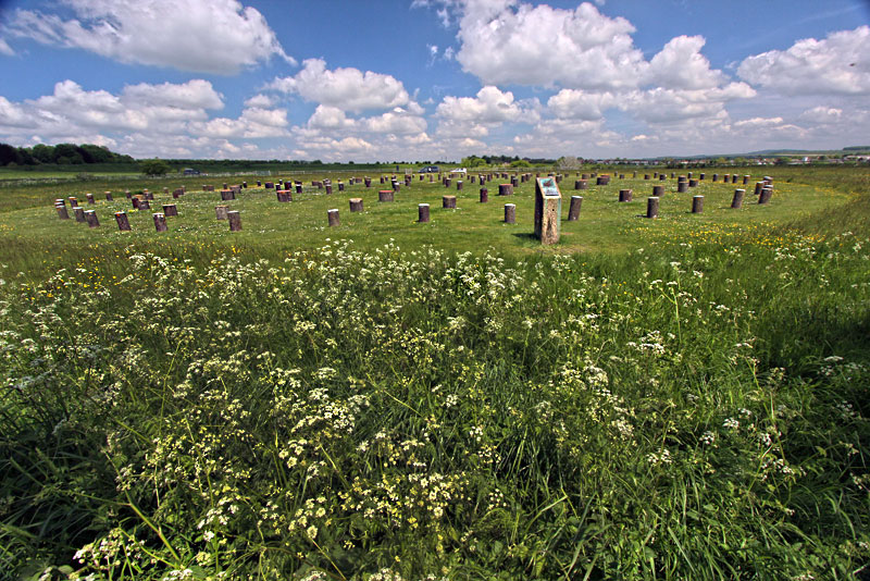 Woodhenge, a Bronze Age Wooden Religious Structure in Wiltshire, England, Was Similar to Stonehenge
