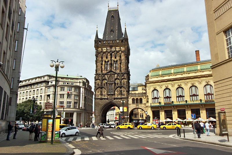 Powder Gate, One of the 13 Original Gates to the City of Prague Was Once Used to Store Gunpowder