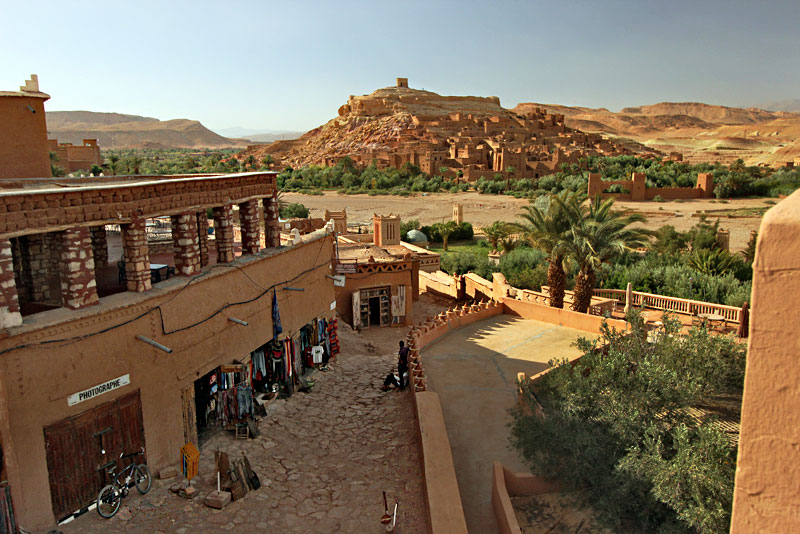 Kasbah Ait Benhadou, a Fortified City on an Ancient Caravan Route Between Marrakech and the Moroccan Sahara