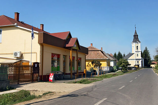 The tiny, serene town of Panyola, in far eastern Hungary