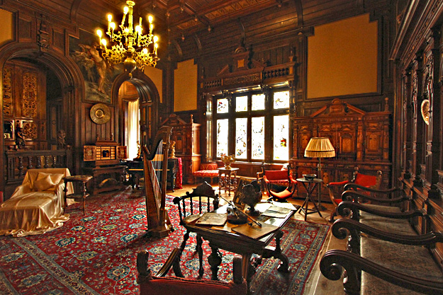 Music Room of Peles Castle