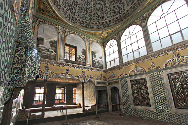 Apartments of the Queen Mother inside the Harem at Topkapi Palace