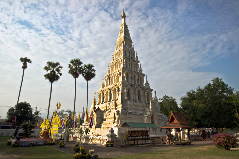 Khan Tom Temple Marks Site of Wiang Kum Kam, the Lanna Capital That Preceded Chiang Mai, Thailand