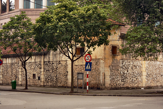 Nondescript stone building in Hanoi, Vietnam wasthe infamous prison known as the Hanoi Hilton