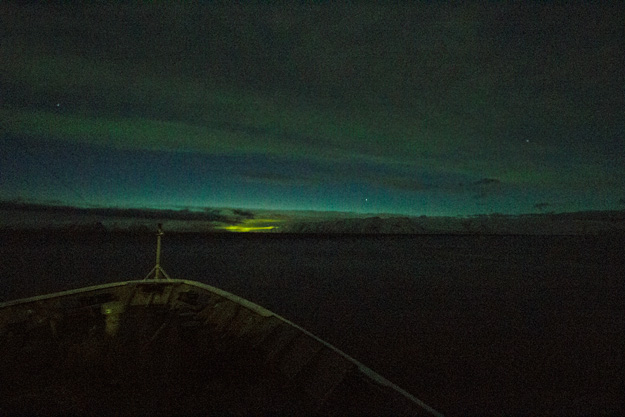 As close as I came to seeing the Northern Lights