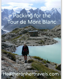 Packing Guide for the Tour de Mont Blanc