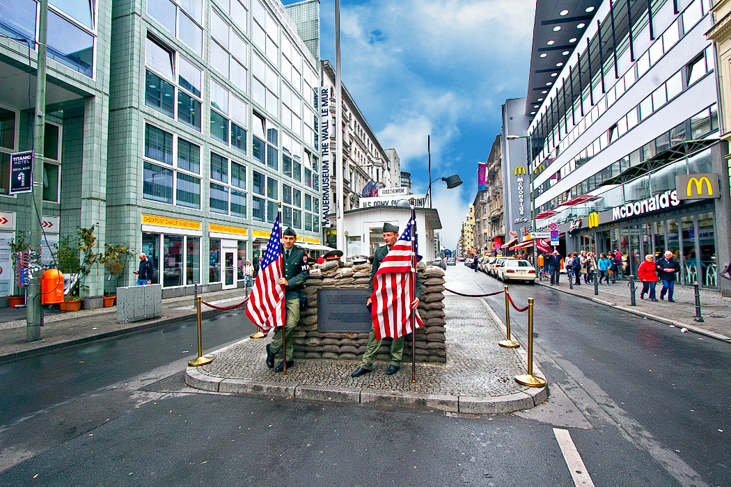 Photo Checkpoint Charlie In Berlin