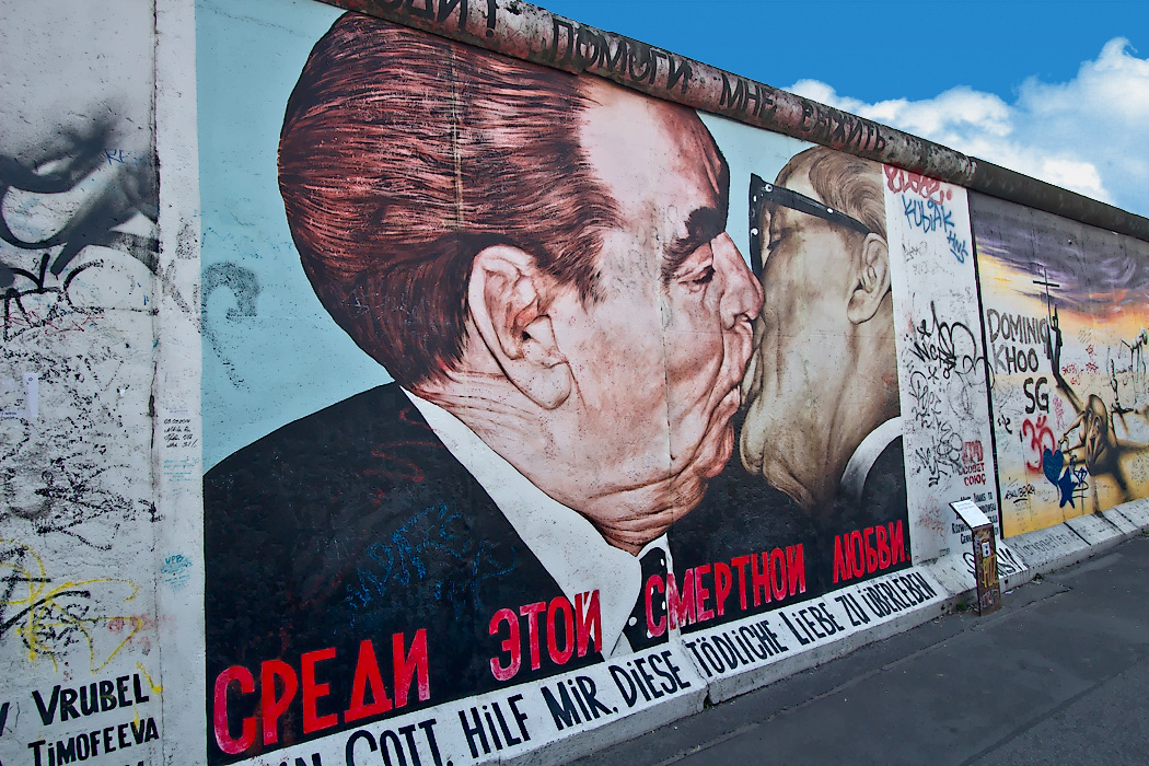 East Side Gallery Berin Wall