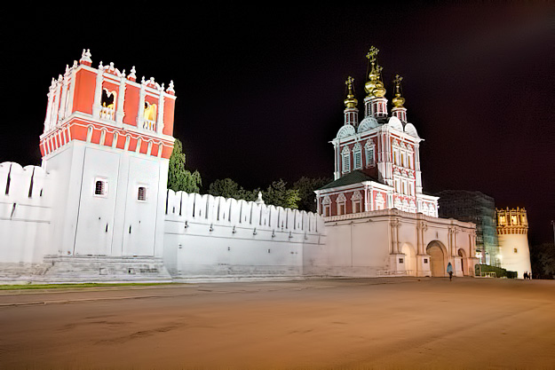 Moscow convent where Peter the Great imprisoned his half sister and regent, Sophia