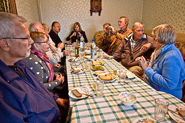 Visit to home of Mikhail and Helen in Uglich, Russia