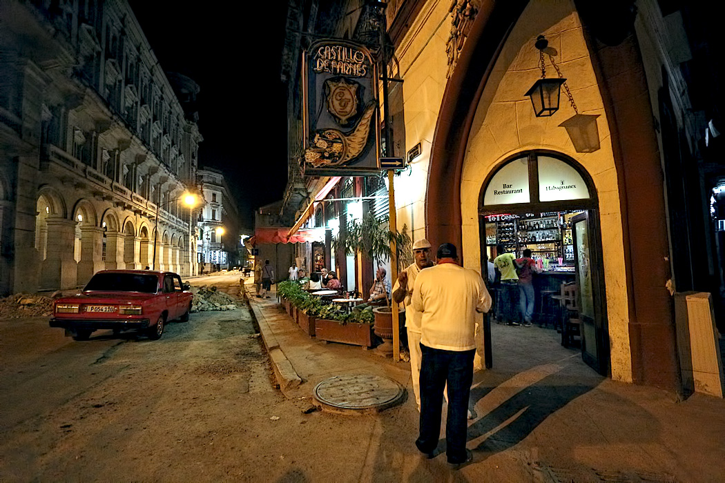 Castillo de Farnes Bar and Cafe in Old Havana
