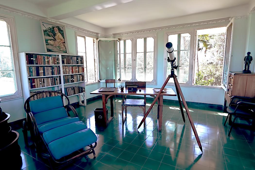 Ernest Hemingway house in Cuba