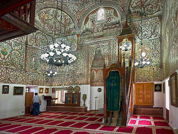 Et Hem Bey Mosque in the capital city of Tirana, Albania