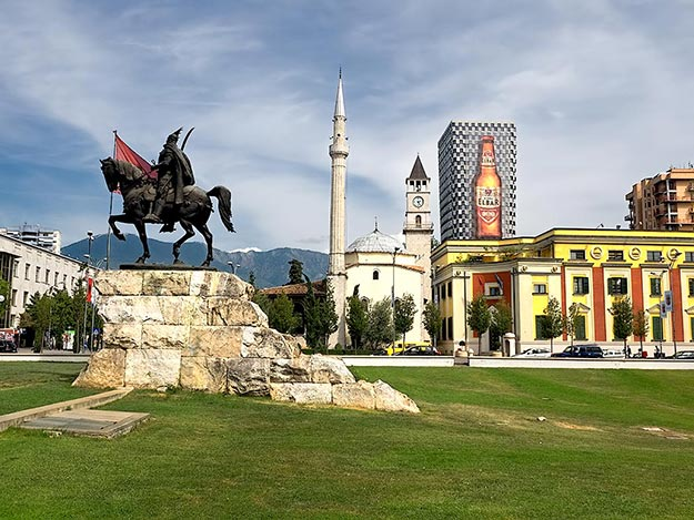 Though Tirana offers little to see outside pretty Skandeberg Square, travel to Albania should include a day or two in the capital city, if only to haunt the coffee houses and sample the local dishes