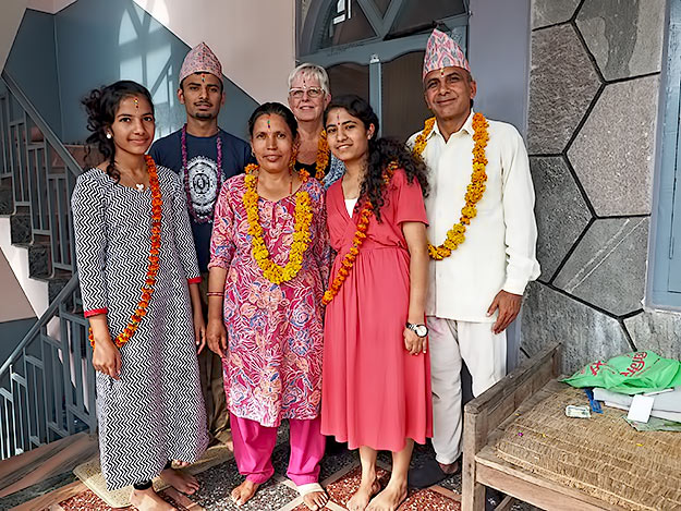 Together again with my adopted Nepali family for the Tihar holiday in Pokhara, Nepal, my second to last destination during my 2015 year in review