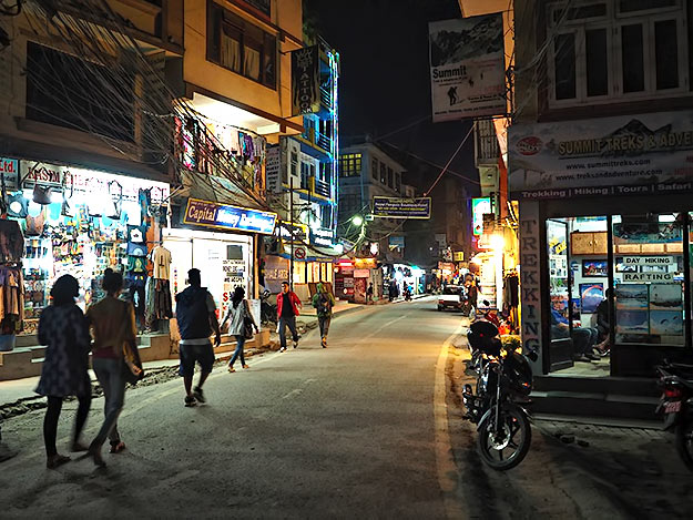 Six months after the earthquake, the streets of Thamel, the backpacker district of Kathmandu, are still deserted