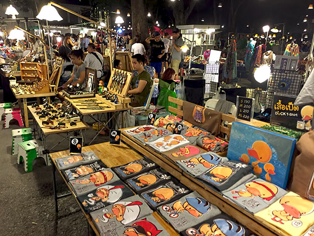 Cicada Night Market, which focuses on handmade arts and crafts