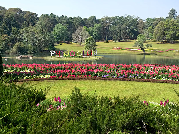 National Kandawgyi Garden in Pyin Oo Lwin, one of the loveliest Hill Stations of Myanmar